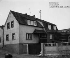 Bahmersgasse Findt 1978