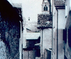 Bahmersgasse Blickrichtung Kirche 1938