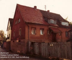 Bischbergstr 8 Büttner Ferdinand 1982
