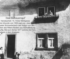 Hensbachstr 8 Vorbeck Hofbauerngut
