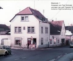Marienstr 1 Hirsch Leo und Theodor-Schnatz Toni 1981