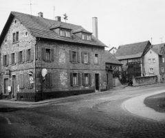 Molkenbornstr Schweinheimer Str Scharfeck um 1965 S30904