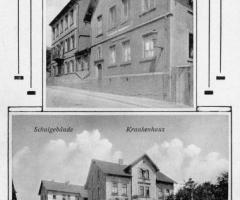 Freundstr Schule und Krankenhaus und Kloster
