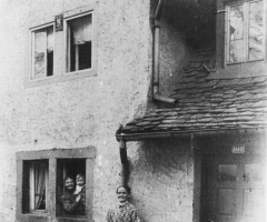 Rosenstr Häuser der Schweinheimer um 1900