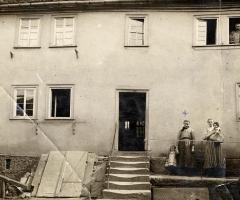 Schulzengasse um 1900 Staudt Rosenberger