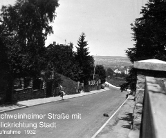 Schweinheimer Str Blickrichtung Stadt
