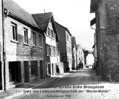 Schweinheimer Str Braugasse 1950