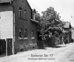 Sodener Str 17 Bahmer Lorenz um 1952