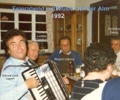 Almhütte Feierabend auf der Alm 1992