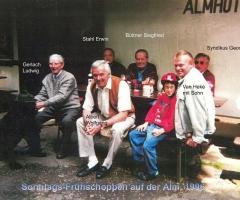 Almhütte Frühschoppen 1996