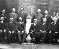 Daniel Gasthaus Stammgäste 1921