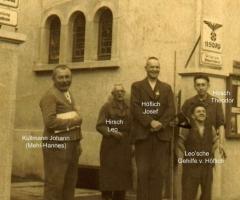 Ratsstube Gastwirt Höflich Josef u. Mehl-Hannes 1938