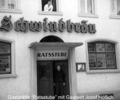 Ratsstube Josef u. Richard Höflich 1970