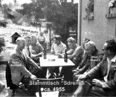 Sdrenka Exe Stammtisch 1955 (2)