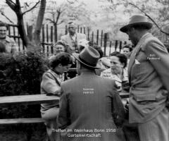 Weinhaus Bonn BSC-Treffen in der Gartenwirtschaft 1958 (2)