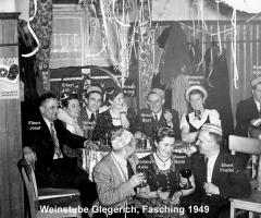 Weinstube Giegerich Fastnacht 1949 (2)