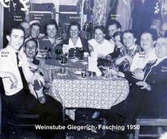 Weinstube Giegerich Fastnacht 1950 (4)