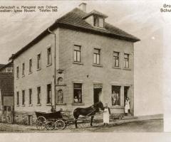 Ochsen Gasthaus u. Metzgerei Postkarte