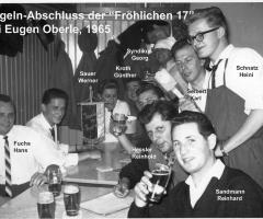 Zur Gemütlichkeit Fröhliche Siebzehn Kegeln 1965 (2)