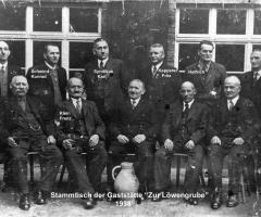 Zur Löwengrube Stammgäste 1938 (2)