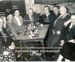 Zur Löwengrube Gemütliches Beisammensein 1955
